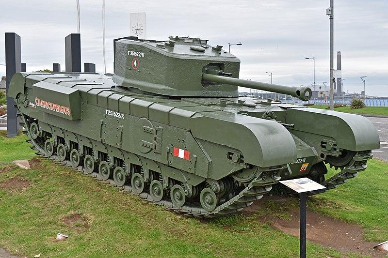 "File:A22F Churchill Mk.VII 'T251622 K' ""Carrickfergus"" (44029718524).jpg"