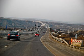 A3 motorway (Romania) - A3 motorway between Gilău and Turda