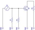 AC equivalente schakeling van de gemeenschappelijke-emitter versterker.png