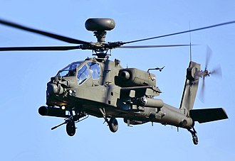 AgustaWestland Apache - An AH64D at the Duxford Autumn Airshow 2010