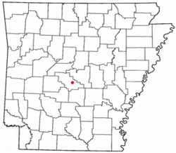 Location of Salem, Saline County, Arkansas