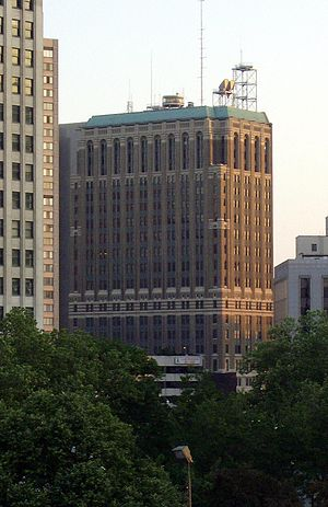 AT&T Michigan Headquarters - Image: AT&Tbuilding Detroit