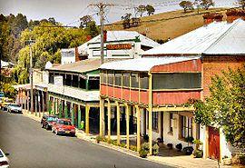 AUS NSW Carcoar Belubula Street