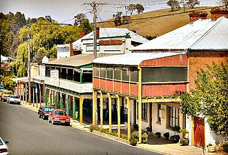Carcoar, New South Wales - Belubula Street