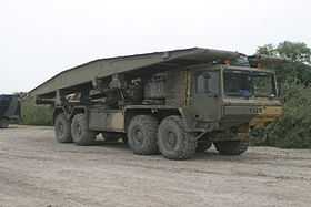 Alvis Unipower Tank Bridge Transporter