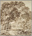 A Path Bordered by Trees with two Beggars and a Couple Strolling MET DP827293.jpg