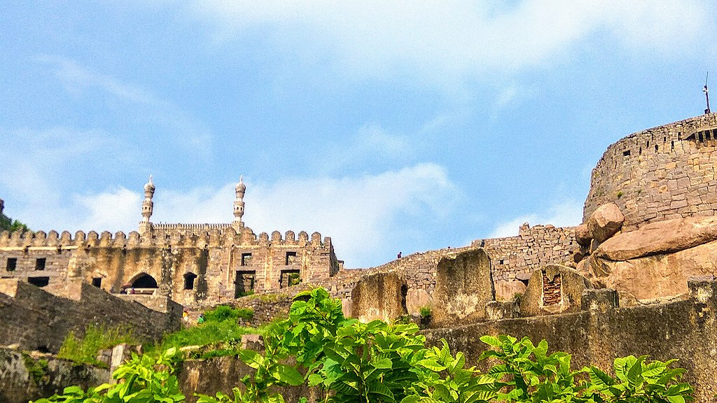 Golconda Fort forts in India