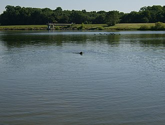 Middletown Township, Bucks County, Pennsylvania - Lake Luxembourg in Core Creek Park.