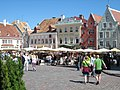 A market place in the historical old town of Tallinn Estonia.jpg