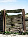 A section of plank wall - geograph.org.uk - 989941.jpg
