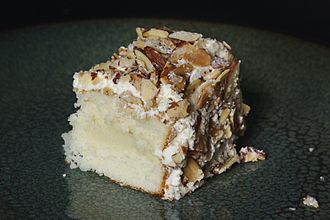Torte - Food writer Julie R. Thomson has called the burnt almond torte from Prantl's Bakery in Pittsburgh the best cake in America.