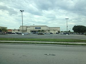 Hialeah, Florida - Sears entrance to Westland Mall