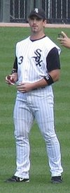 Rowand with White Sox