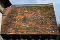 Abbess Roding - St Edmund's Church - Essex England - south porch tiled roof.jpg