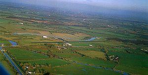 Abbeyshrule Aerodrome - Image: Abbeyshrule Aerodrome (aerial view)