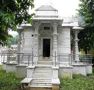 Abhinandananatha - Image: Abhinandannath Temple, Madhuban