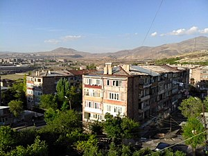Abovyan and Mount Hatis(September 2015)