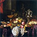 Abraham van Beyeren Still-Life with Fruit, Sea Food, and Precious Tableware.jpg