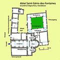 Abtei St-Génis-des-Fontaines, Grundriss.jpg