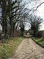 Access road to Glen Farm - geograph.org.uk - 714989.jpg