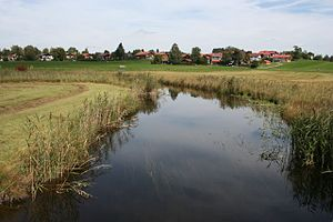 Ach (Ammer) - River Ach south of Uffing