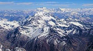 Aconcagua - Aconcagua from the south