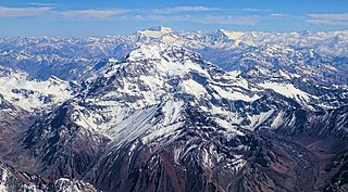 Aconcagua highest mountain in South America(6962 m)