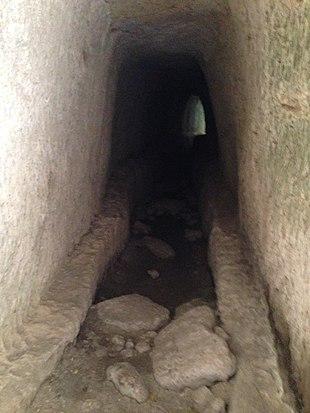 L'acquedotto di epoca greca.