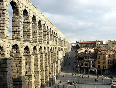 Segovia, the city of the first armed clash between the comuneros and the royalists AcueductoSegovia edit1.jpg