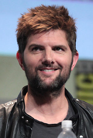 Adam Scott (actor) - Scott at the 2015 San Diego Comic Con