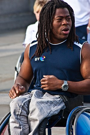 Ade Adepitan - Adepitan in 2010