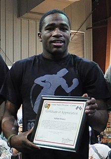 Adrien Broner American professional boxer