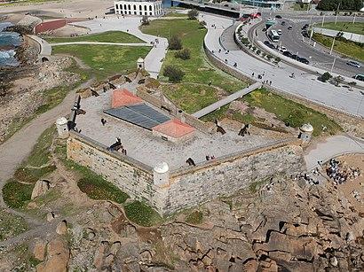 Como chegar a Forte De São Francisco Xavier através de transportes públicos - Acerca do local