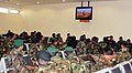 Afghan National Army soldiers watch television or rest as they patiently wait for their C-17 cargo plane (4410926004).jpg