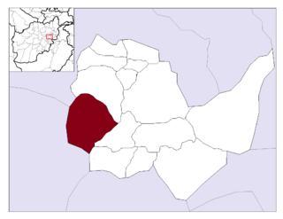 Paghman District District in Kabul Province, Afghanistan
