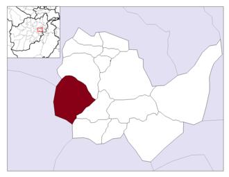 Paghman - Image: Afghanistan Kabul Province Paghman District