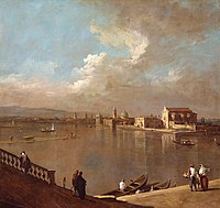 After Canaletto (Venice 1697-Venice 1768) - Venice, View towards Murano from the Fondamenta Nuove - RCIN 404595 - Royal Collection.jpg