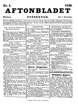 Aftonbladet no1 1830-12-06.png