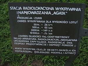 Agata radiolocation station at the Muzeum Polskiej Techniki Wojskowej in Warsaw (3).JPG