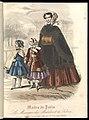 Aglaja - Mode de Paris - Dame met jongen en meisje - 1856 nr 03 plaat 11.jpg