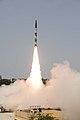 Agni-I missile test on 13 July 2012.jpg