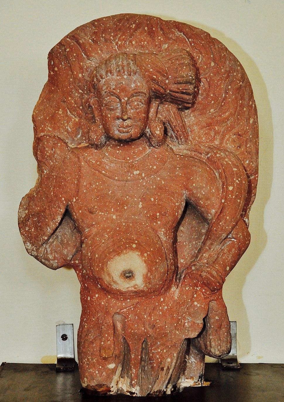 Agni - Kushan Period - ACCN 40-2880 - Government Museum - Mathura 2013-02-23 5714