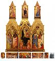 Agnolo Gaddi and Lorenzo Monaco. Polyptych of the Santa Maria degli Angeli. Reconstruction.jpg