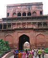 Agra Fort - views inside and outside (33).JPG