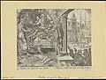 Ahasuerus Consulting Haman 1564 print by Maarten van Heemskerck, S.I 55695, Prints Department, Royal Library of Belgium.jpg