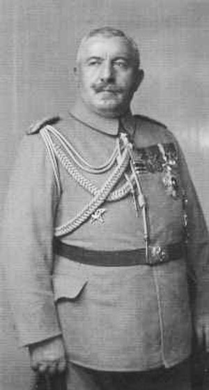 Republic of Central Albania - Ahmed İzzet Pasha