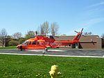 Air Ambulance at Port Perry Hospital (2468147560).jpg
