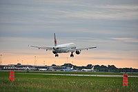 Air Canada Airbus A321-200 C-GIUB Montréal-Pierre Elliott Trudeau International Airport.jpg
