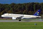 Airbus A320-214 (Saudi Arabian Airlines) HZ-ASD GVA (15398509317).jpg