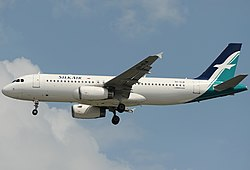 Airbus A320-200 der Silk Air